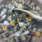 秋の野菜の米料理