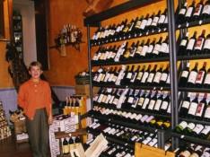 リオハのワイン店