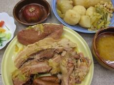 カスティーリャ料理+豆の話