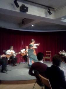アカデミーの2012年最初のイベント「ビーノ、タパス、フラメンコ!」