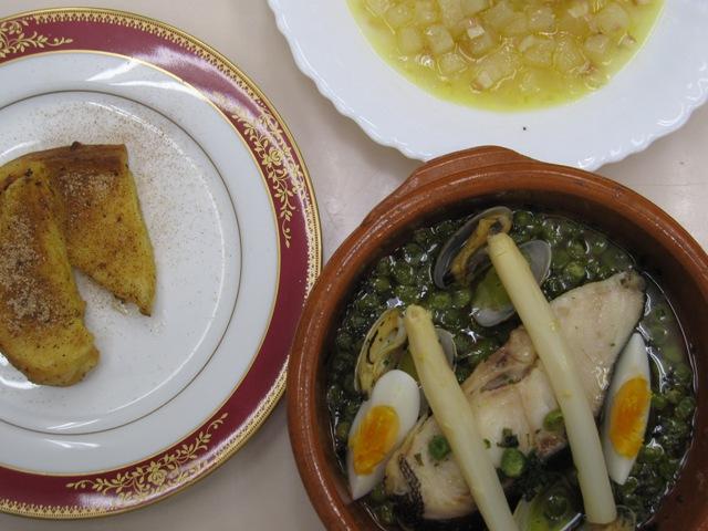 スペイン料理基礎 2月