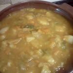 バスク風ネギのスープ