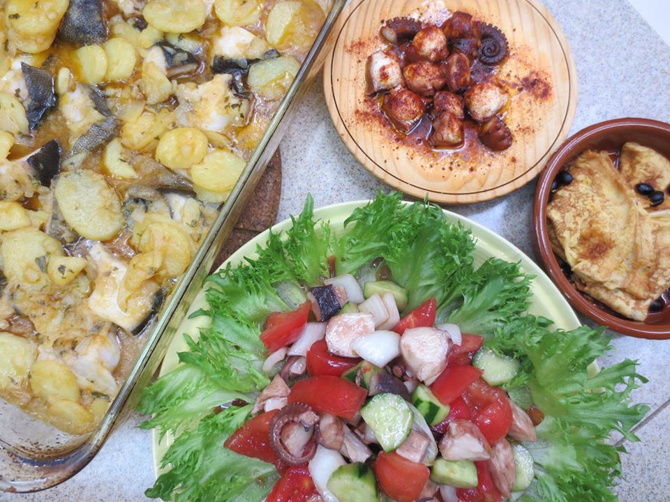 ガリシア料理+スパイスの話