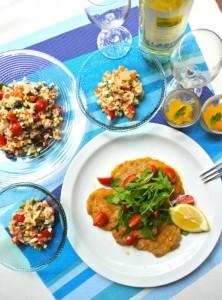 2015年 8月 地中海料理「クラセ・メディテラネア」メニュー