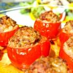 トマトのファルシ プロヴァンス風
