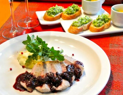 2015年12月 地中海料理「クラセ・メディテラネア」メニュー