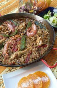 バレンシア料理+お米の話 パエーリャ