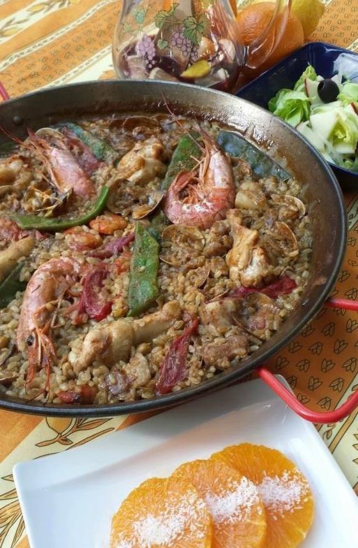 スペイン料理基礎12月