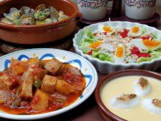 スペイン料理基礎10月
