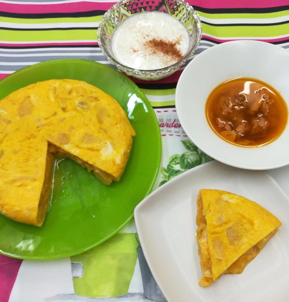 スペイン料理基礎 9月