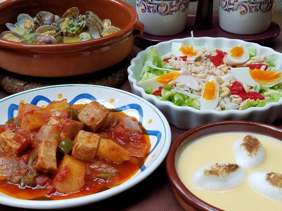 スペイン料理基礎 10月