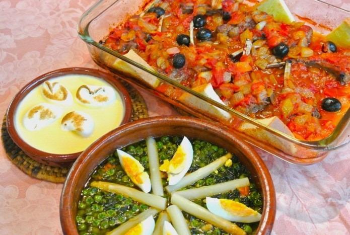 スペイン料理基礎 11月