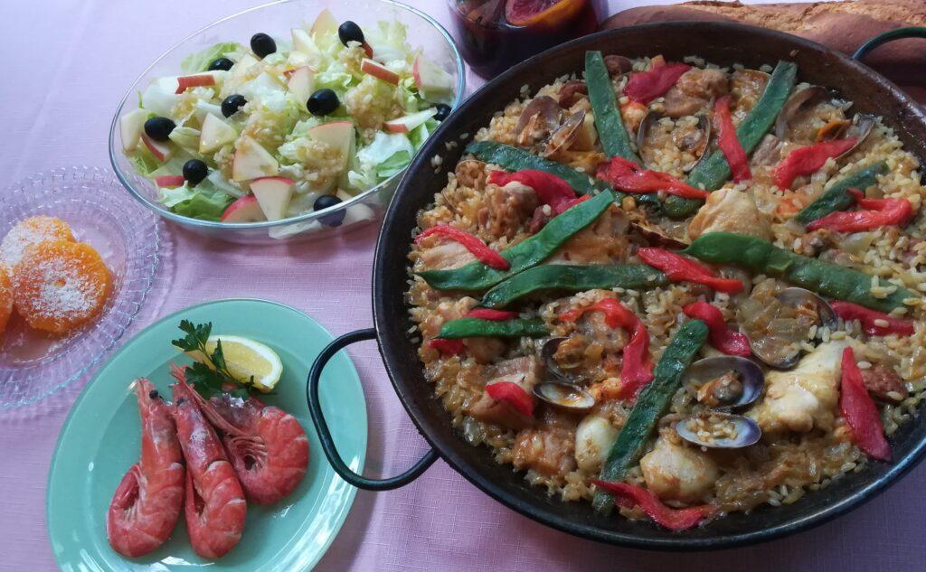 スペイン料理教室 12月